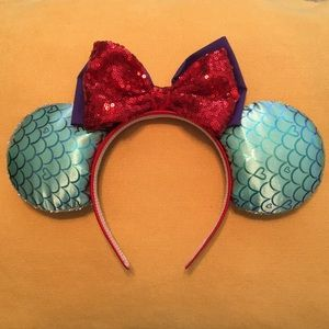 Accessories - Handmade Disney ears - the Little Mermaid